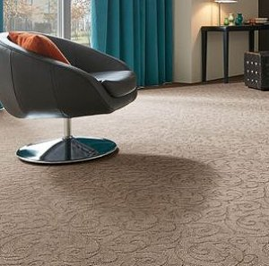 Home office floor coverings