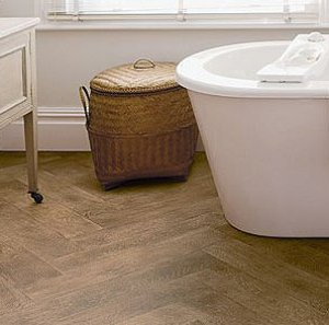 Bathroom floor coverings