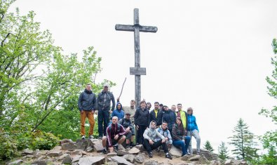 Integration trip in the Świętokrzyskie mountains