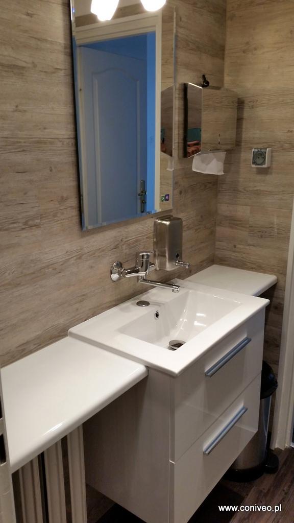 łazienka W Biurze Do Biur I Instytucji Realizacje Coniveo