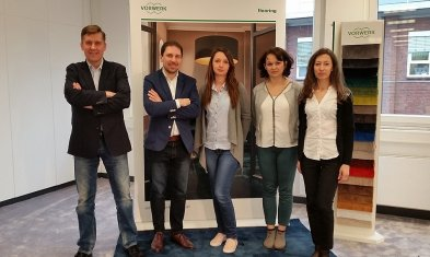 Representatives Coniveo in German factory carpet - Vorwerk